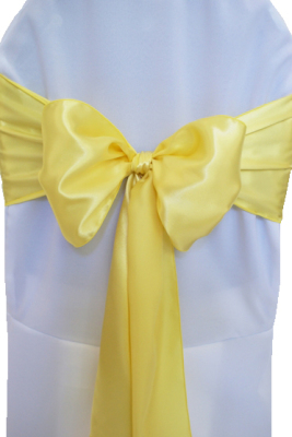 Canary Yellow Satin